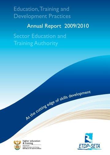 ETDP SETA Annual Report 2009-2010_Full_LR-30-08-12