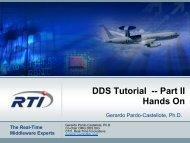 DDS Tutorial -- Part II Hands On - OMG