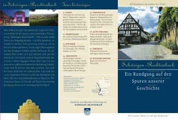 Flyer..PDF.. Rundgang Geschichte - Schweigen Rechtenbach