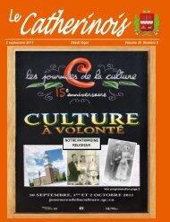 Septembre 2011 - Ville de Sainte-Catherine-de-la-Jacques-Cartier