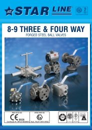 8-9 Three & Four Way - Global Supply Line