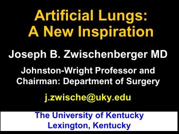 Artificial lungs