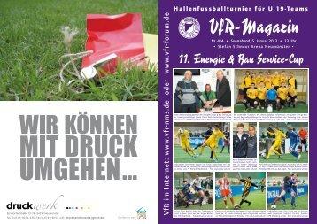 11. Energie & Bau Service-Cup - VfR Neumünster