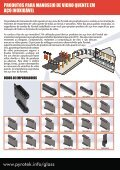 Aço inoxidável Produtos para manuseio de vidro quente - Pyrotek - Page 2
