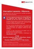 Interruption Lausanne—Villeneuve. - SBB - Page 2