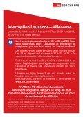 Interruption Lausanne—Villeneuve. - SBB - Page 4