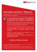 Interruption Lausanne—Villeneuve. - SBB - Page 5