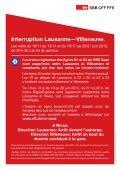 Interruption Lausanne—Villeneuve. - SBB - Page 7