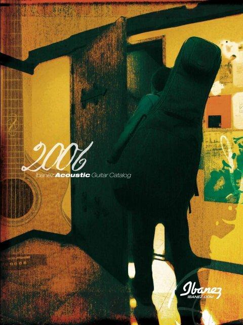 Ibanez Acoustic Guitar Catalog