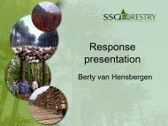Response presentation