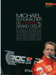 Michael Schumacher - Magazine Sports et Loisirs