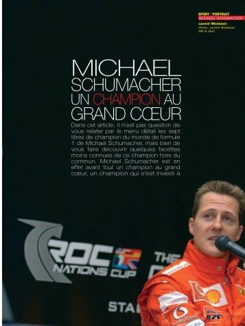 Michael Schumacher - Magazine Sports et Loisirs