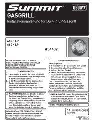 GASGRILL - Weber - Der Grill. Das Original.