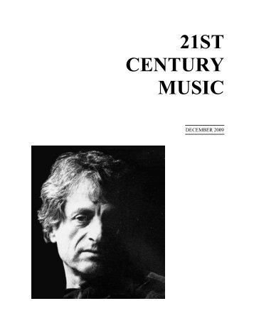 Iannis Xenakis - 21st Century Music