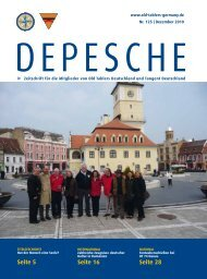 Depesche 125 - Old-Tablers Deutschland