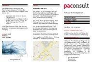 Einladung zum IP Seminar - paconsult
