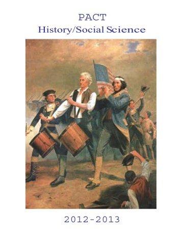 History/Social Science - Graduate School of Education - University ...