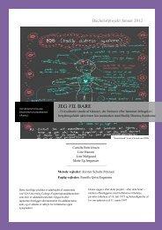 [pdf] JEG VIL BARE - Ergoterapeutforeningen