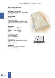 Produkter / Gipsplader / Gipspladesortim... - Gyproc