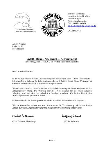 Adolf-Bohn-Nachwuchsschwimmfest
