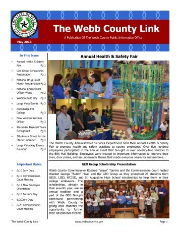 The Webb County Link