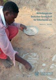 DGV-Mitteilungen Nummer 36 - Deutsche Gesellschaft für ...