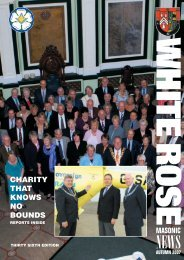 NEWSLETTER 36 Repro - Masonic Province of Yorkshire, West Riding