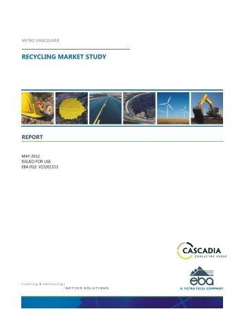 Metro Recycling Capacity Report City Of Durham