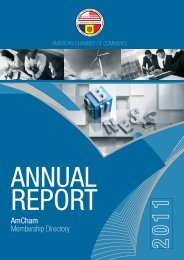 Annual Report 2011 - AmCham Moldova