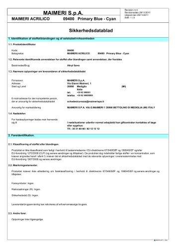 Datablad - Aart de Vos
