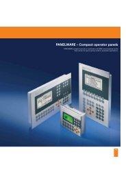 PANELWARE – Compact operator panels