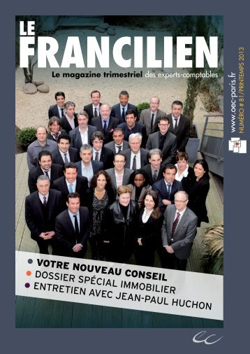 Le Francilien - Ordre des experts-comptables de Paris Ile-de-France