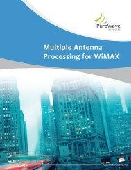 Multiple Antenna Processing for WiMAX - Winncom Technologies