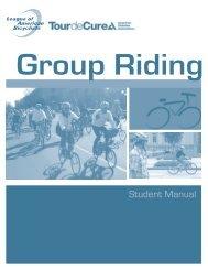 Group Riding - Tour de Cure
