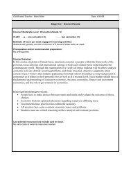 Certificated Teacher: Mark Miller - Spokane Public Schools