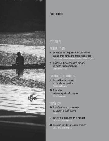 Revista Etnias & Politica No 3 - Observatorio Étnico Cecoin