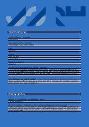 Generelle oplysninger Studie på Aarhus Universitet: Antropologi ...