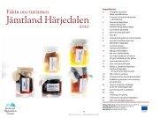 en basnäring i Jämtland Härjedalen - Jamtland.se