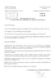 Lire la délibération n°12CR015 - Région Poitou-Charentes