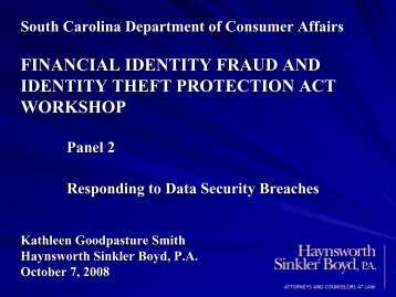 financial identity fraud and identity theft protection act