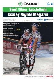 Sixday Nights Magazin - 6-Tagerennen Zürich