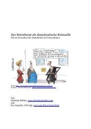 Der Betriebsrat als demokratische Keimzelle - Christian Rüther