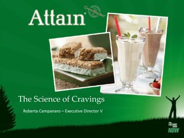 Attain: The Science of Cravings