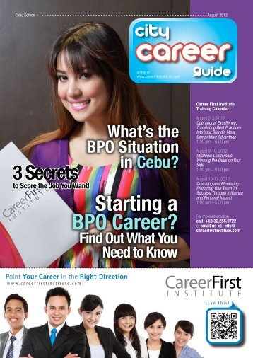 Starting a BPO Career? Find Out What You Need to Know What's ...