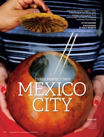 THREE PERFECT DAYS - Mexico City Experience