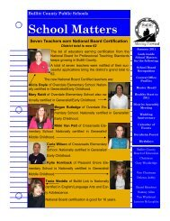 School Matters (January 2011) - Bullitt County Public Schools
