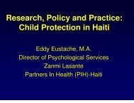 Child Protection in Haiti - The Coalition for Children Affected by AIDS