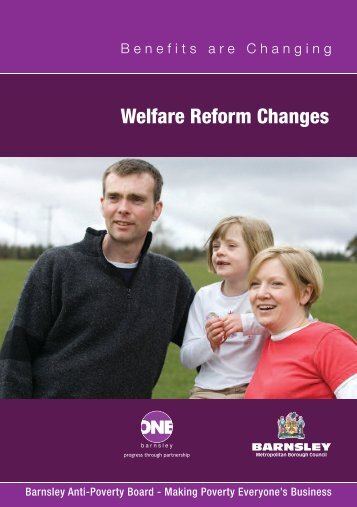 Welfare Reform Changes - Barnsley Council Online
