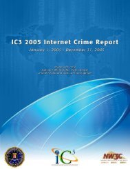IFCC Annual Internet Fraud Report - National White Collar Crime ...