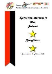 Bernermeisteschaft 10m stehend 2010 - BKAV